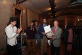 La Peña Madridista Alberto Vitoria nombra socio de honor a Antonio Ruiz