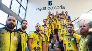El BM Soria estrena su nueva equipación
