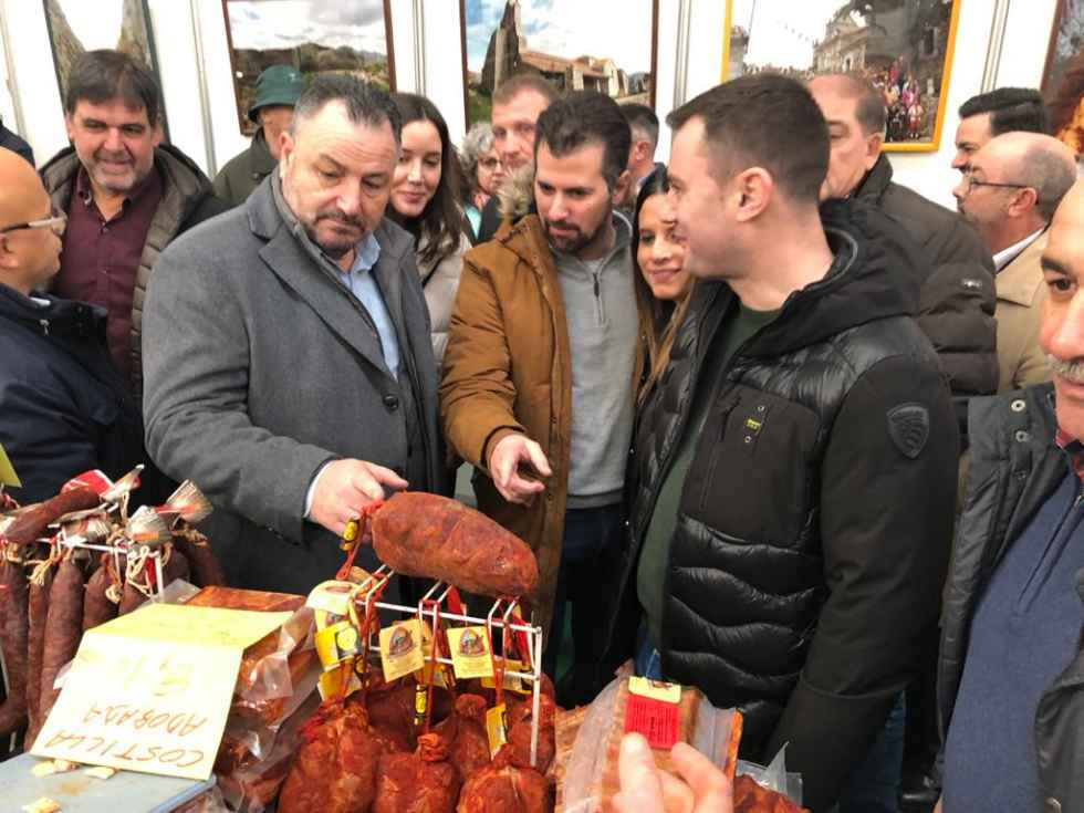 Tudanca reclama más ayuda para la España vaciada
