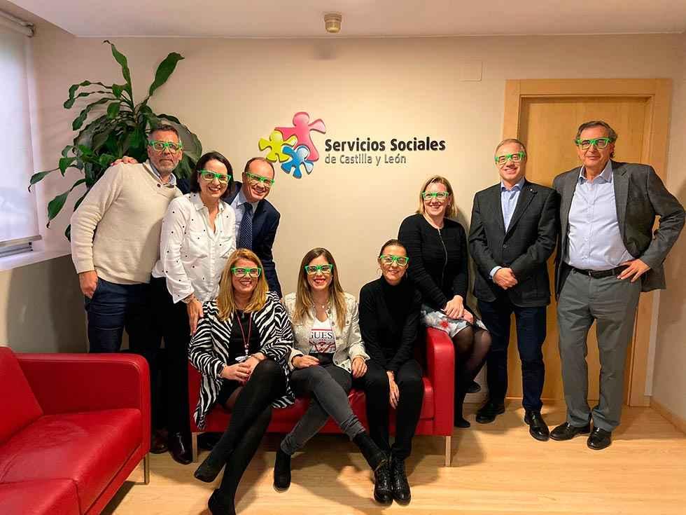 Familia se suma a la iniciativa #miraporladiscapacidad