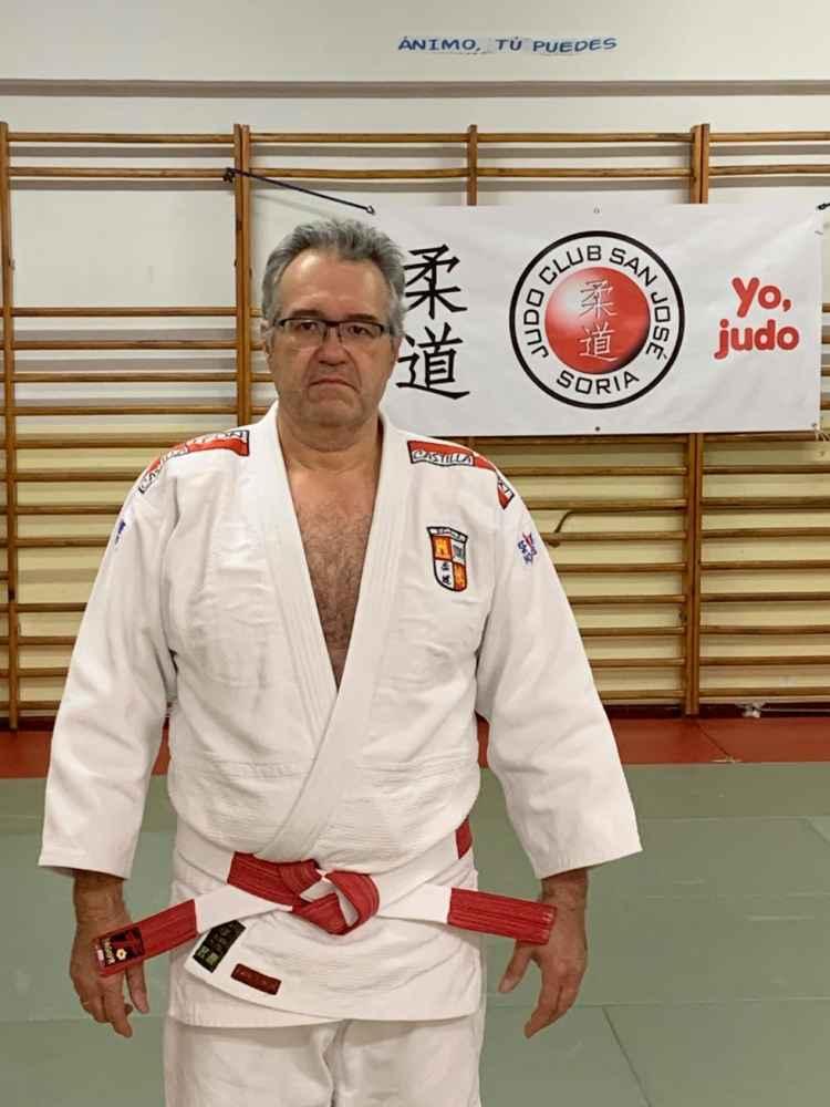 Ramón Aragonés, nuevo cinturón negro sexto dan de judo