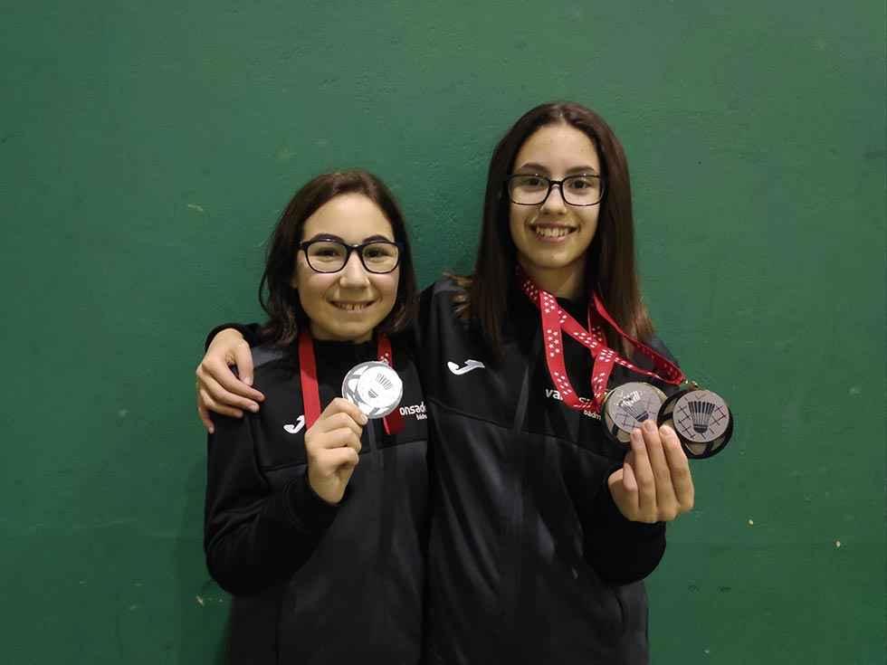 Medallas para Carmen Carro y Diana García en Guadarrama