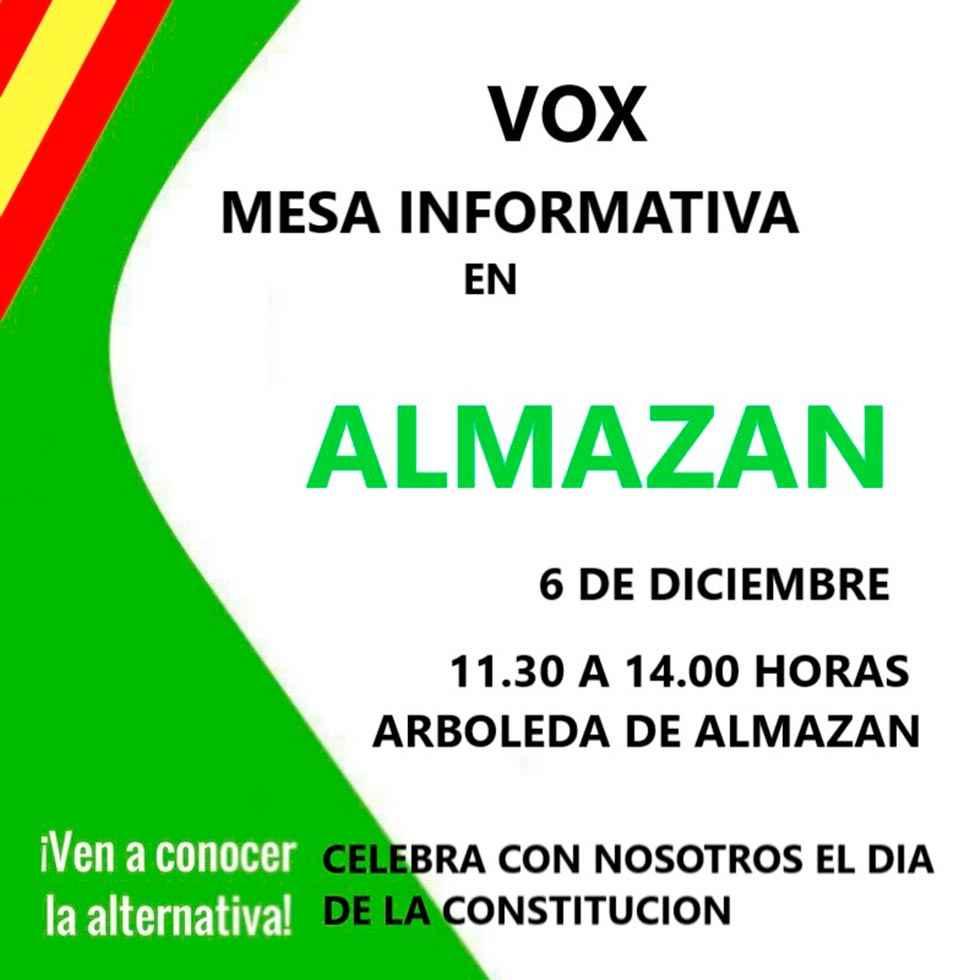 Vox presenta su alternativa política en Almazán