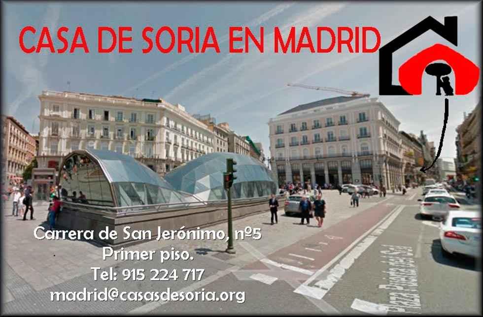Programa de diciembre en la Casa de Soria en Madrid