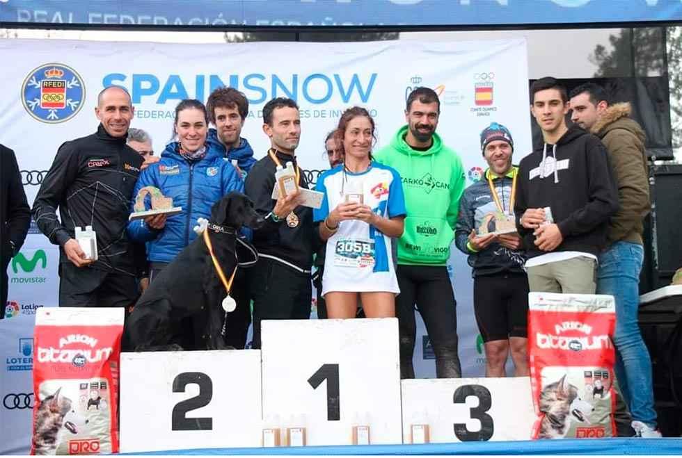 Medallas sorianas en Campeonato de España de Mushing