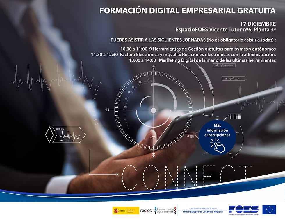 Jornada maratoniana en Formación Digital Empresarial