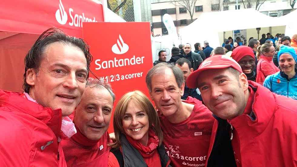 Antón y Cacho participan en la Carrera de las Empresas