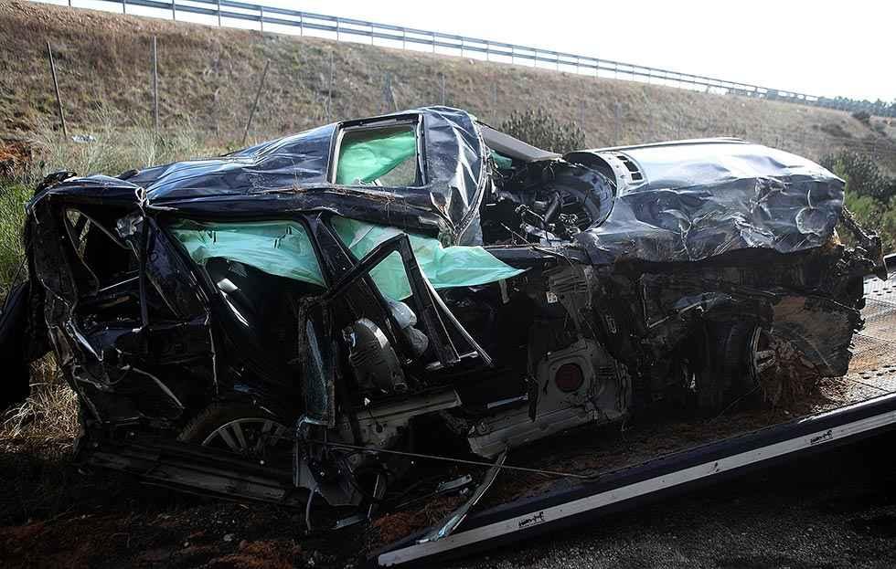Patxi Andión fallece en accidente en A-15