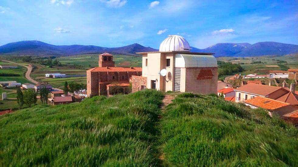 Primera boda civil en el Observatorio Astronómico de Borobia