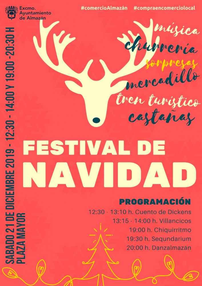 Festival de Navidad en la plaza Mayor