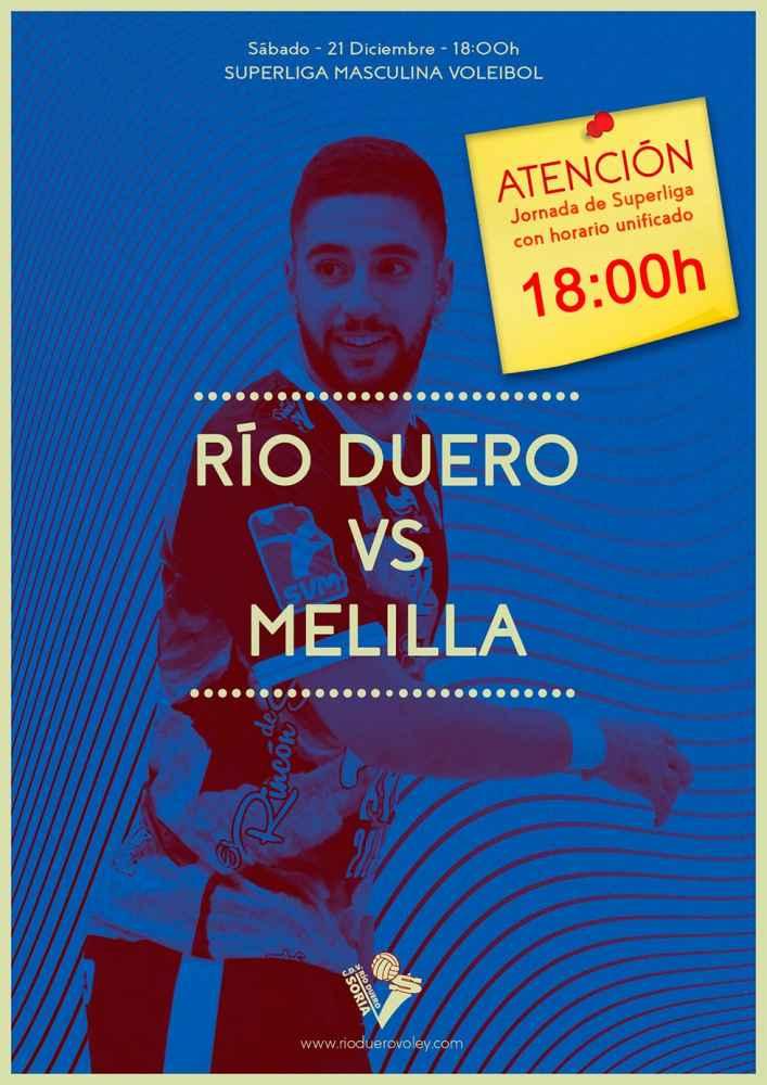 Río Duero cierra la primera vuelta frente al Melilla
