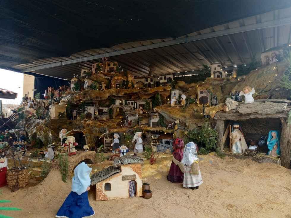 Santa María de Huerta monta su belén