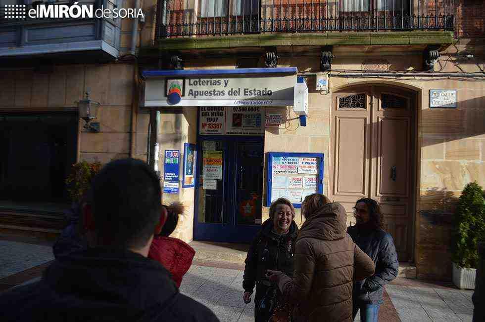 Soria, una de las ciudades agraciadas con el sorteo