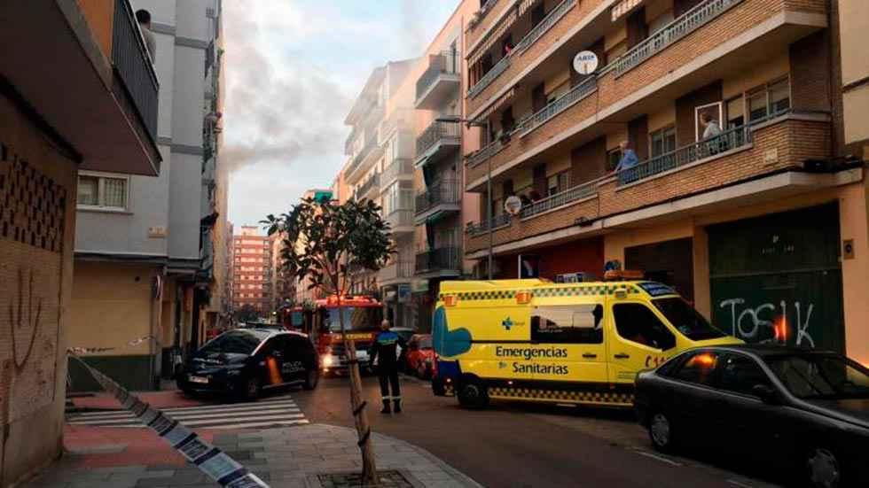 Atendidas 26 personas por inhalación de humo en Salamanca