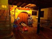Fuentecantos coloca su Belén en la iglesia de San Miguel