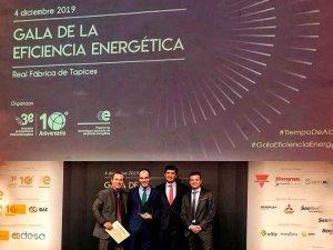 El EREN gana premio por ahorro de 12 millones en electricidad