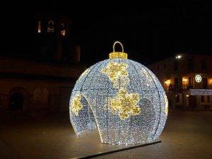 Almazán: encendido navideño - fotos