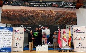 Dos medallas en el Circuito Nacional senior de Toledo