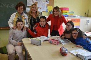 Visita al colegio especial Santa Isabel - fotos