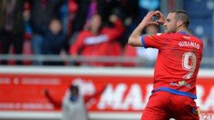 El Numancia vuelve a sonreír frente al Girona