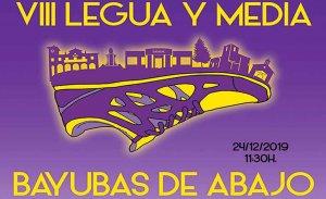 La VIII Legua y Media de Bayubas supera las 200 inscripciones