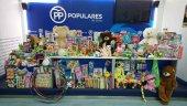 Nuevas Generaciones recoge juguetes solidarios en Navidad