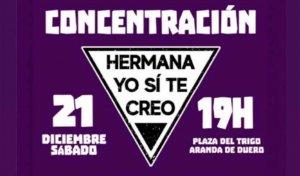 La Asamblea Feminista de Soria se solidariza con Aranda