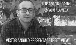 """Victor Angulo presenta su poemario """"Street View"""""""