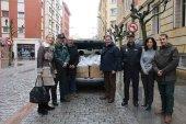 Entrega de 325 kilos de alimentos a Cáritas Soria