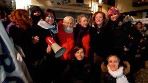 La Asamblea Feminista de Soria se concentra en Aranda