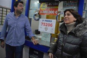 Un quinto premio reparte 9,2 millones de euros en Soria