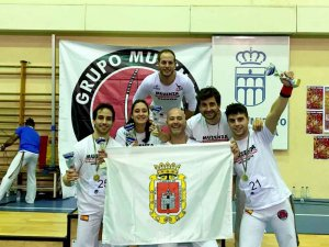 La capoeira soriana, tercera en la Copa de España