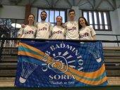 Bádminton Soria, con opciones de clasificación a fase de ascenso