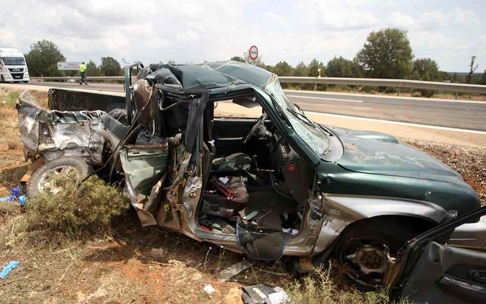 Menos víctimas mortales en accidentes de tráfico en 2019