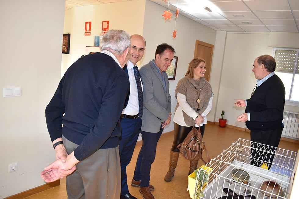 Serrano visita la residencia de Nuestra Señora de los Milagros