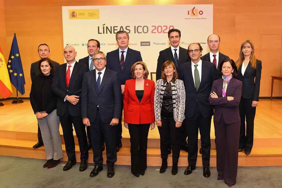 Unicaja Banco renueva su colaboración con las Líneas ICO