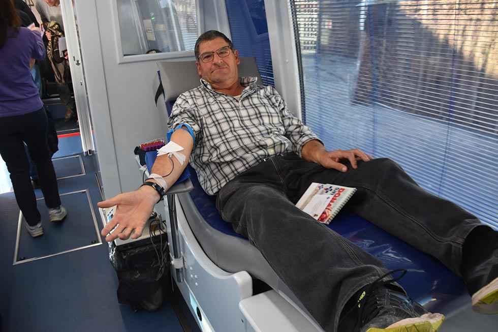 Más de 105.000 donaciones de sangre en 2019