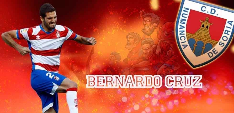 Bernardo Cruz, un nuevo defensa central para el Numancia