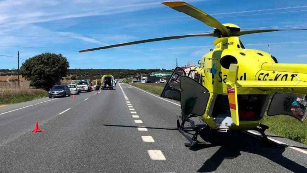 Fallece un motorista en Segovia tras colisión entre dos motos