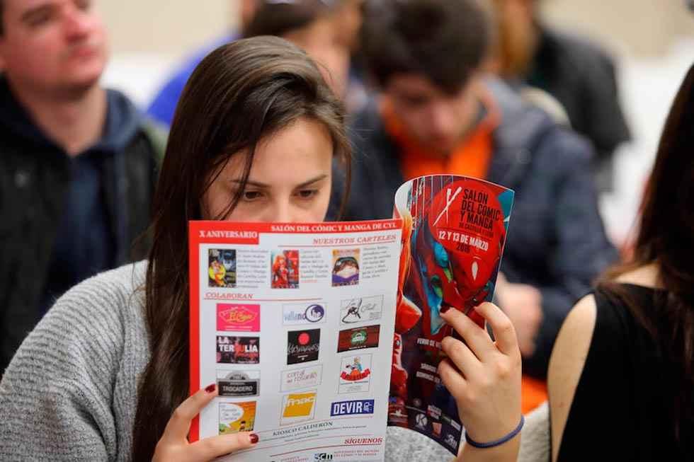Concurso de carteles en la UVa dentro del Salón del Cómic y Manga