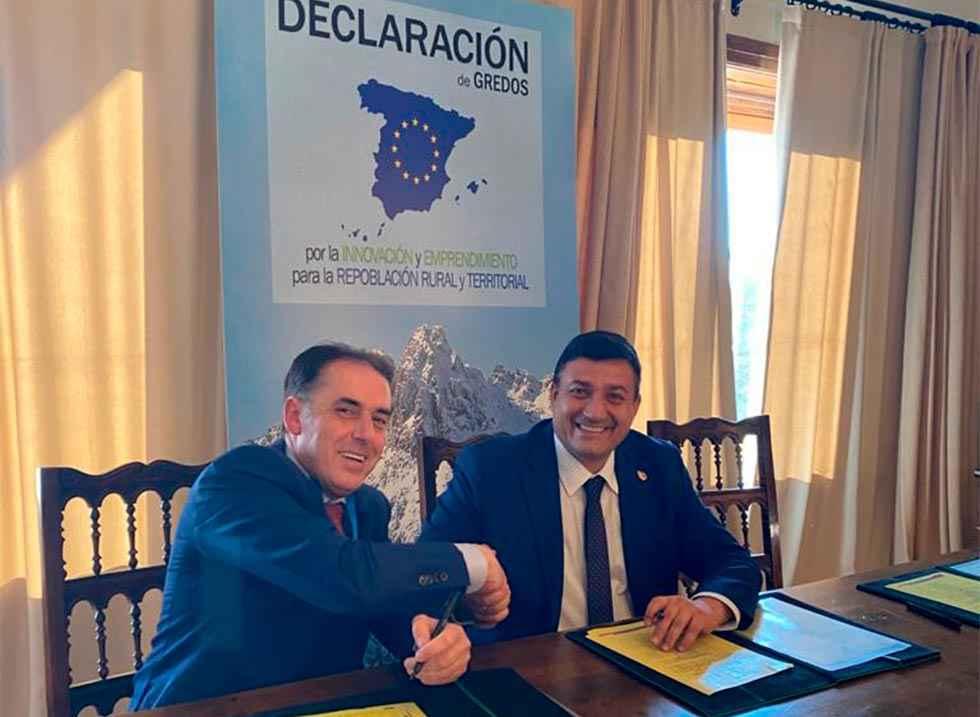 """La Diputación soriana firma la """"declaración de Gredos"""""""