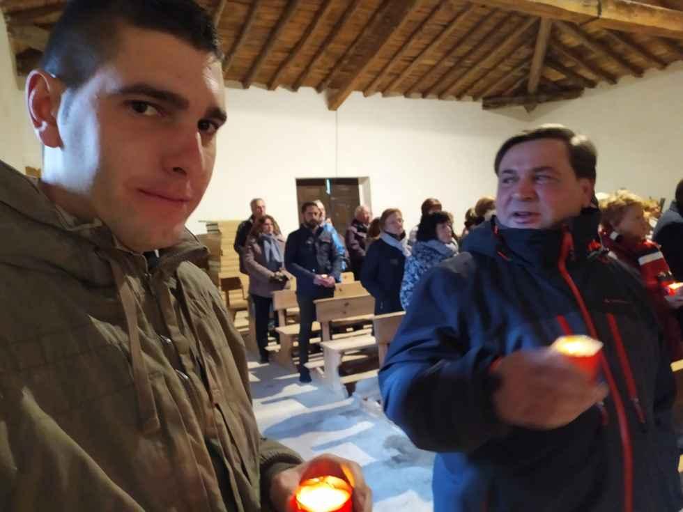 """Vinuesa da la bienvenida a """"Los Santitos"""", con San Antón"""