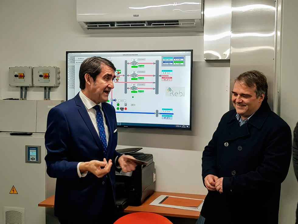 La red de calor de Aranda de Duero abastecerá a 4.600 viviendas