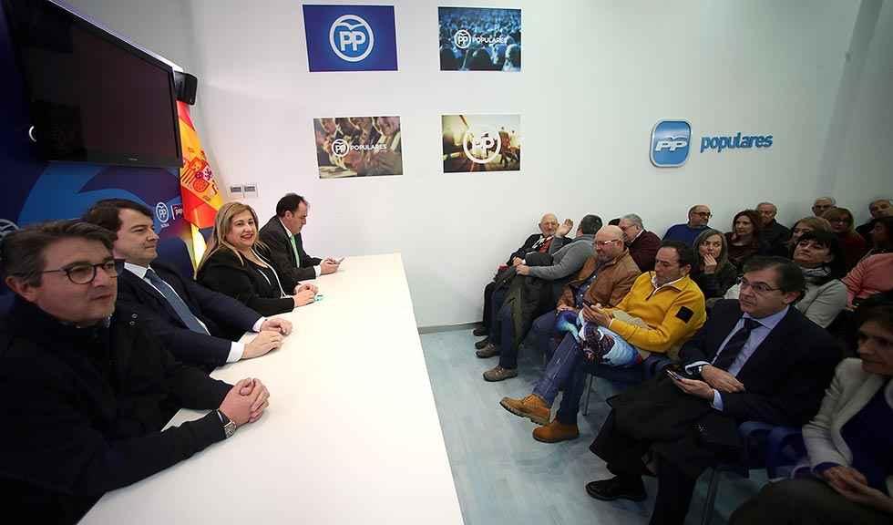 Mañueco descarta un congreso extraordinario en PP provincial