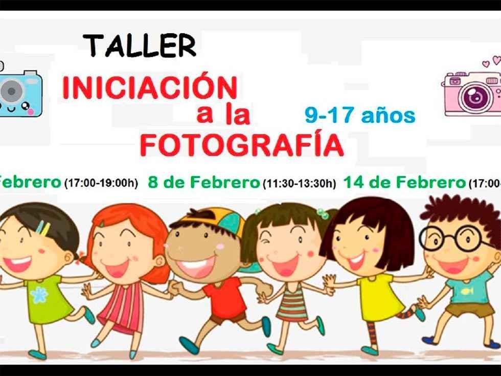 Taller infantil para iniciarse en la fotografía en Golmayo