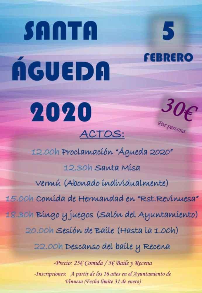 Vinuesa convoca a participar en Santa Águeda
