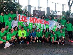 Los runners de Almazán, en la San Silvestre vallecana