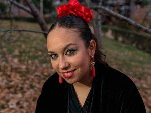 María Terremoto, protagonista de la velada flamenca