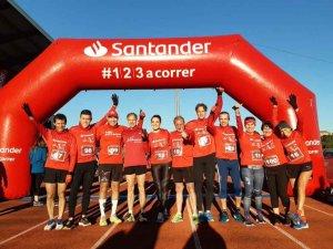 El equipo de 123aCorrer, preparado para el Maratón de Sevilla