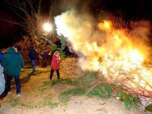 Pedrajas celebras su fiesta de las luminarias
